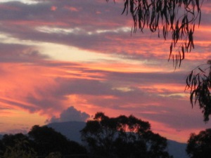 Canberra Sunset 16-4-2013 Sonya Heaney
