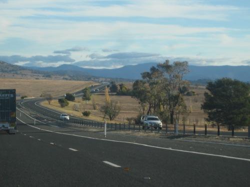 New South Wales Australian Capital Territory border 25-4-2012 Sonya Heaney