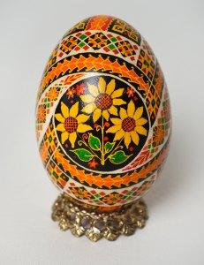 Ukrainian Easter Egg - Large Goose Egg