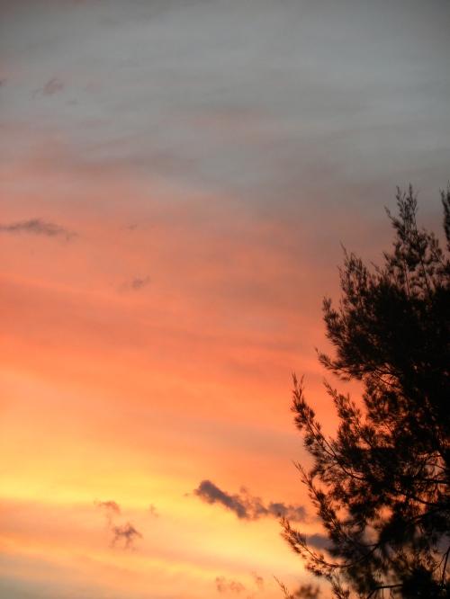 September Sunset 7-9-13 Canberra Sonya Heaney