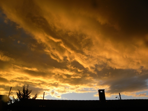 Queanbeyan Sky 7th October 2013 Sonya Heaney Oksana Heaney