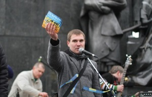 Kharkiv EuroMaidan co-organiser and civic activist Dmitry Pylypets.