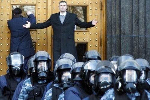 Vitaly Klitschko Kyiv Ukraine December 2013