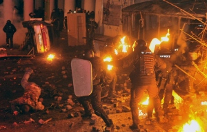 Kyiv Ukraine Protests January 2014