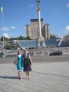 Sonya Heaney Oksana Heaney Kyiv Ukraine June 2013