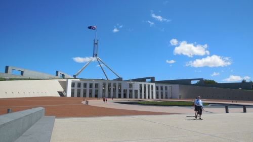 Parliament House Canberra Australia 20th February 2014 Sonya Heaney Oksana Heaney (2)