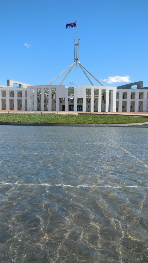 Parliament House Canberra Australia 20th February 2014 Sonya Heaney Oksana Heaney