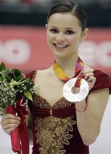 Sasha Cohen ukrainian-american figure skater 2006