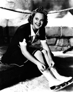 Sonja Henie three-time Olympic Champion