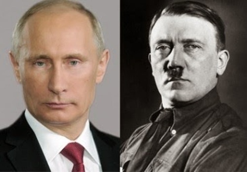 Vladimir Putin Adolf Hitler Tony Abbott