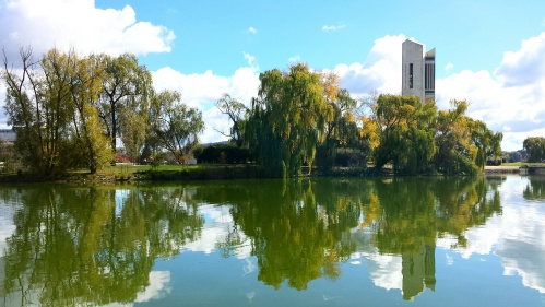 Canberra Australia Lake Burley Griffin National Carillon Sonya Heaney Michael Heaney May 2014