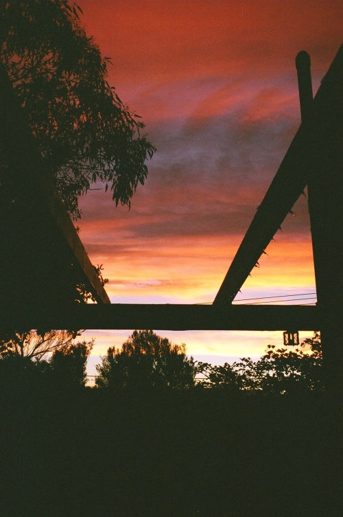 Canberra Australia Sunset 2006 Sonya Heaney