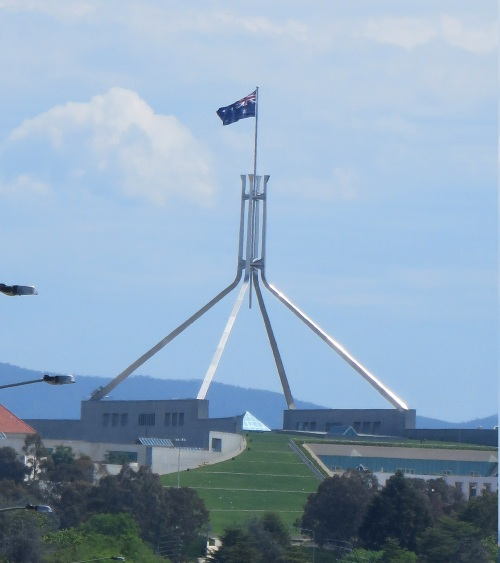 Parliament House Canberra Australia Saturday 25th October 2014 Sonya Heaney Oksana Heaney