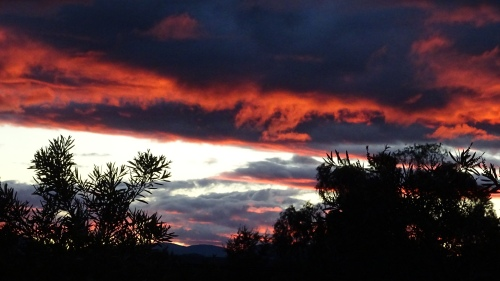 Sunset Canberra Australia 15th October 2014 Sonya Heaney Oksana Heaney 2