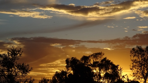 Sunset Canberra Australia Halloween 31st October 2014 Sonya Heaney Oksana Heaney