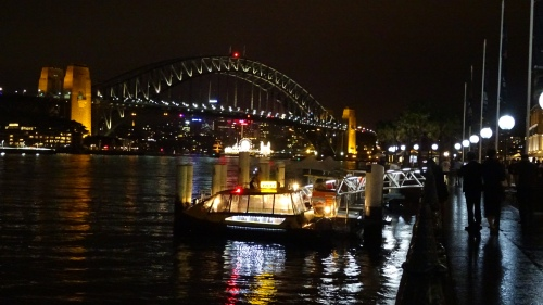 Sydney Harbour Bridge at Night 15th November 2014 Sonya Heaney Oksana Heaney