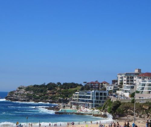 Bondi Beach on Sunday Morning 7th December 2014 Sydney Australia Sonya Heaney