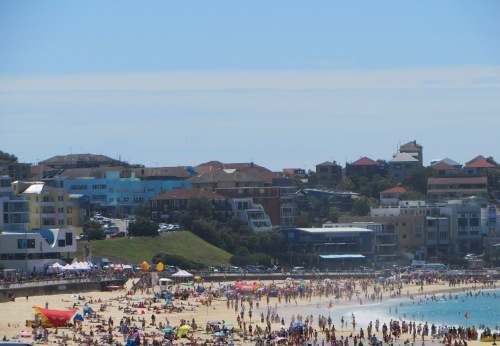 Sunday Morning at Bondi Sydney Australia 7th December 2014 Sonya Heaney