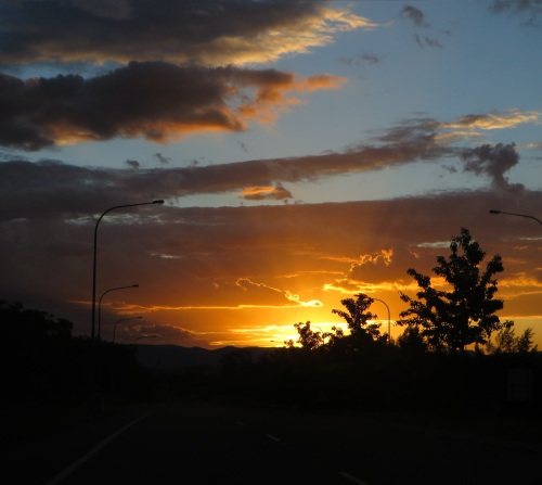 Sunset Queanbeyan Australia 14th December 2014 Sonya Heaney Oksana Heaney