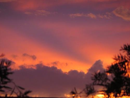 Sunset Tuggeranong Canberra Australia  1st December 2014 Sonya Heaney