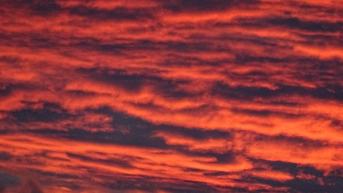 Canberra Sunset Tuggeranong Australia 30th January 2015 Sonya Heaney 4