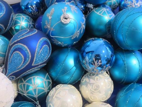 Christmas Canberra Australia Blue Silver 1st December 2014 Sonya Heaney
