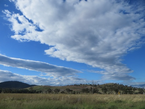 Summer Sky Tuggeranong Canberra Australia 14th January 2015 Sonya heaney Oksana Heaney 1