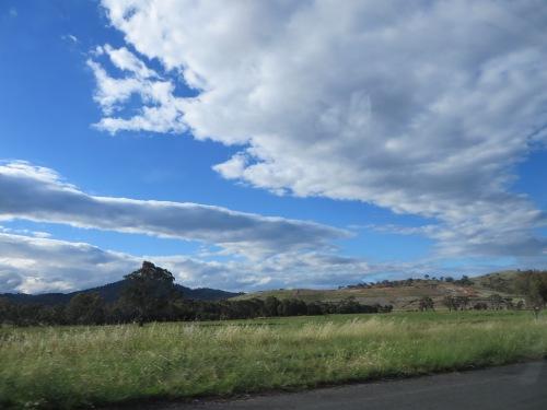 Summer Sky Tuggeranong Canberra Australia 14th January 2015 Sonya heaney Oksana Heaney 2