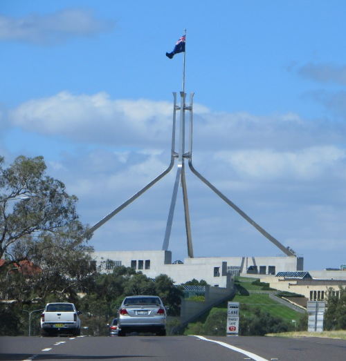 Australian Parliament House Canberra Sonya Heaney 21st March 2015