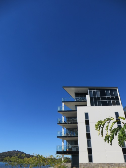 Autumn Blue Sky Kingston Foreshore Canberra Australia Sonya Heaney 28th March 2015