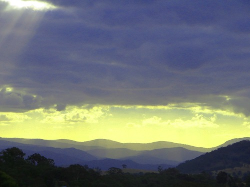 South Canberra Brindabella Ranges Canberra Australia Sonya Heaney 21st March 2015