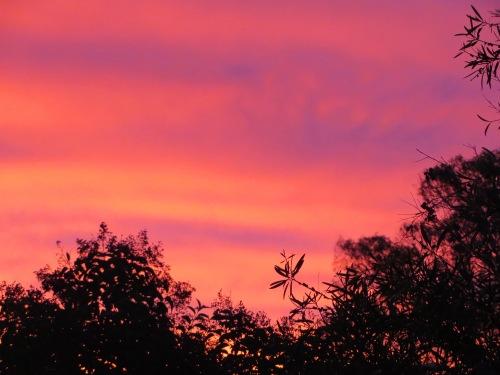 Sunset Gowrie Tuggeranong Canberra Australia Sonya Heaney 20th April 2015