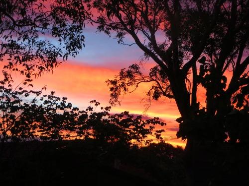 Tuggeranong Sunset Canberra Australia Autumn Sonya Heaney 2nd April 2015