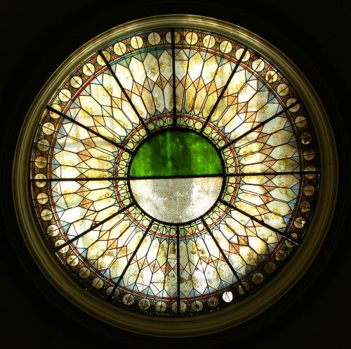 Museum Lviv Ukraine Stained Glass Window Art Deco Sonya Heaney