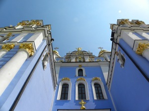 St Michael's Kyiv Ukraine 16th July 2011 Sonya Henaey Oksana Heaney