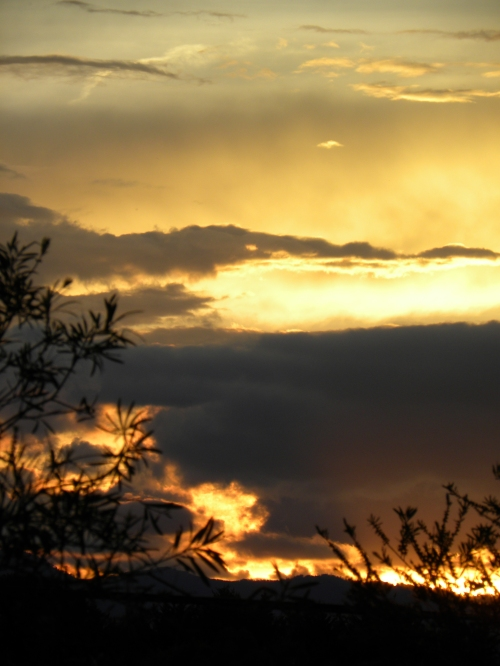Sunset Canberra Australia 16th December 2012 Sonya Heaney