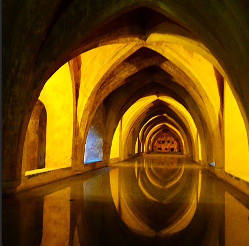 Baths Alcázar of Seville Spain 2014 Sonya Heaney Game of Thrones filming location Europe