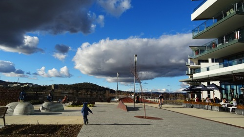 Kingston Foreshore Lake Burley Griffin Canberra Australia Winter Sky Clouds Nature Sonya Heaney Oksana Heaney 19th July 2015