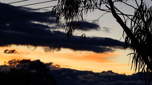 Sunday Sunset Winter Tuggeranong Canberra Australia Sonya Heaney 16th August 2015