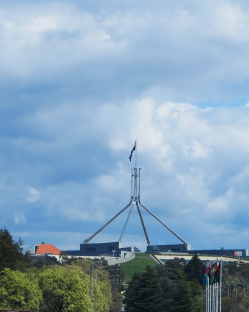 Australian Parliament Canberra Australia Parliament House Capital Hill Spring Sonya Heaney 28th September 2015