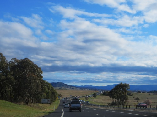 Queanbeyan New South Wales to Canberra Australian Capital Territory Sonya Heaney 18th September 2015 Road Trip Spring Mountains Nature
