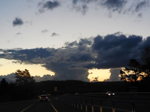 Strange Sky Canberra Australia 21st September 2015 Sonya Heaney Christopher Heaney Clouds Sunset Nature 2
