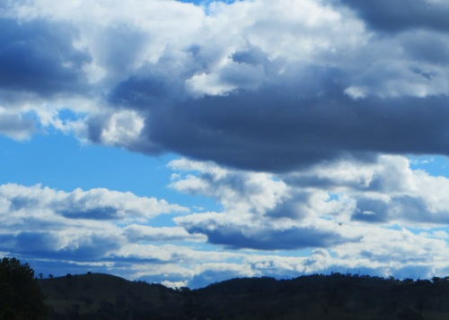 Canberra Australia Spring Sonya Heaney state border NSW ACT Mounains Clouds Sky Nature 26th September 2015