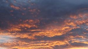 Spring Sunset Tuggeranong Canberra Australia Sonya Heaney 21st October 2015 Sky Clouds Pink Grey Orange Nature
