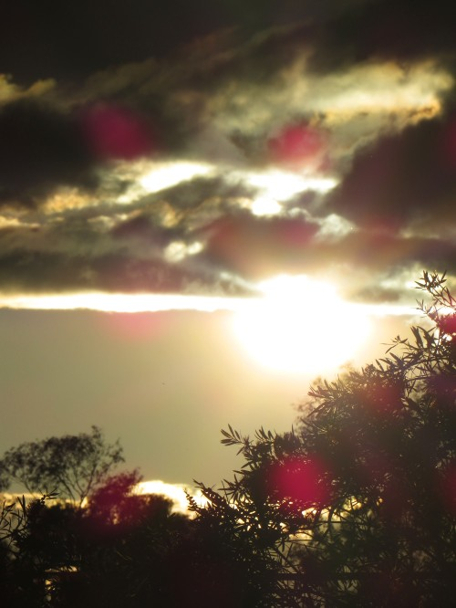 Tuggeranong Canberra Australia Sunset Spring 6th November 2015 Sonya Heaney Clouds Sky Sun Nature