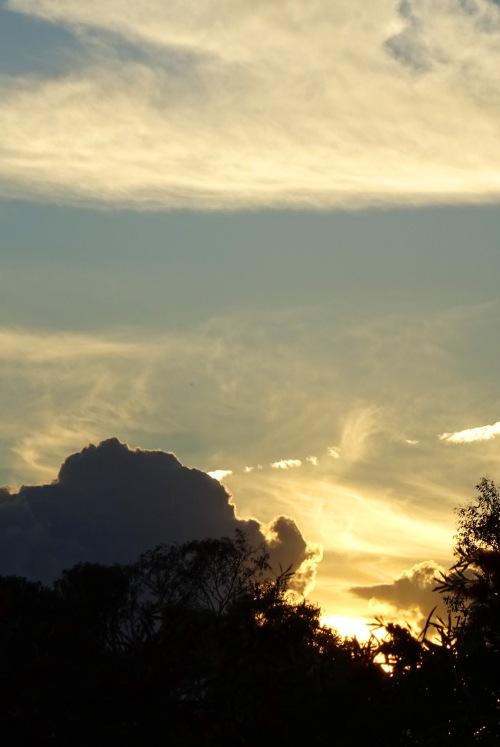 Tuggeranong Sunset Canberra Australia Sonya Heaney 2nd November 2015 Spring Sky Clouds Nature