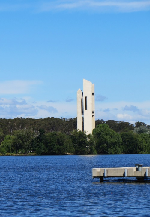 National Carillon Canberra Australia 28th December 2015 Sonya Heaney Lake Burley Griffin Summer Nature