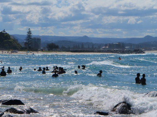Gold Coast Queensland Coolangatta Australia Sonya Heaney 18th December 2015 Beach ocean Sea Waves Summer Nature