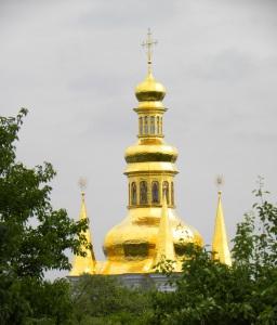 Golden Spire The Lavra Kyiv Ukraine Sonya Oksana Heaney 2013 2