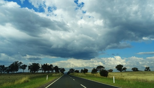 Stormy Sky Canberra Australia Sonya Oksana Heaney Summer Clouds Nature 23rd January 2016